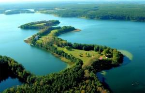 Czarter mazury - jezioro